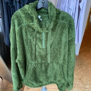 Free People Fuzzy Pullover